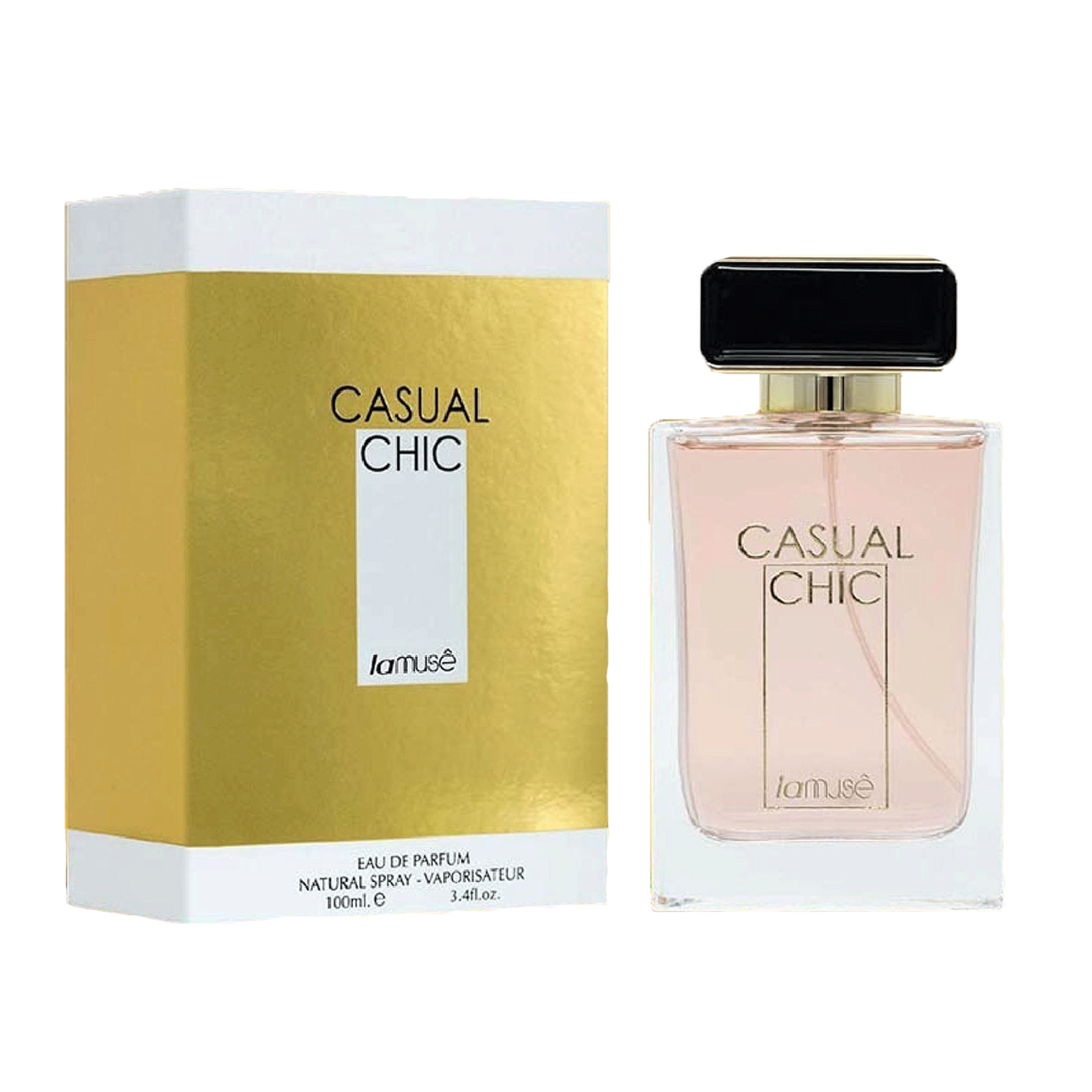 LAMUSE Woman Fragrance Perfume - CASUAL CHIC