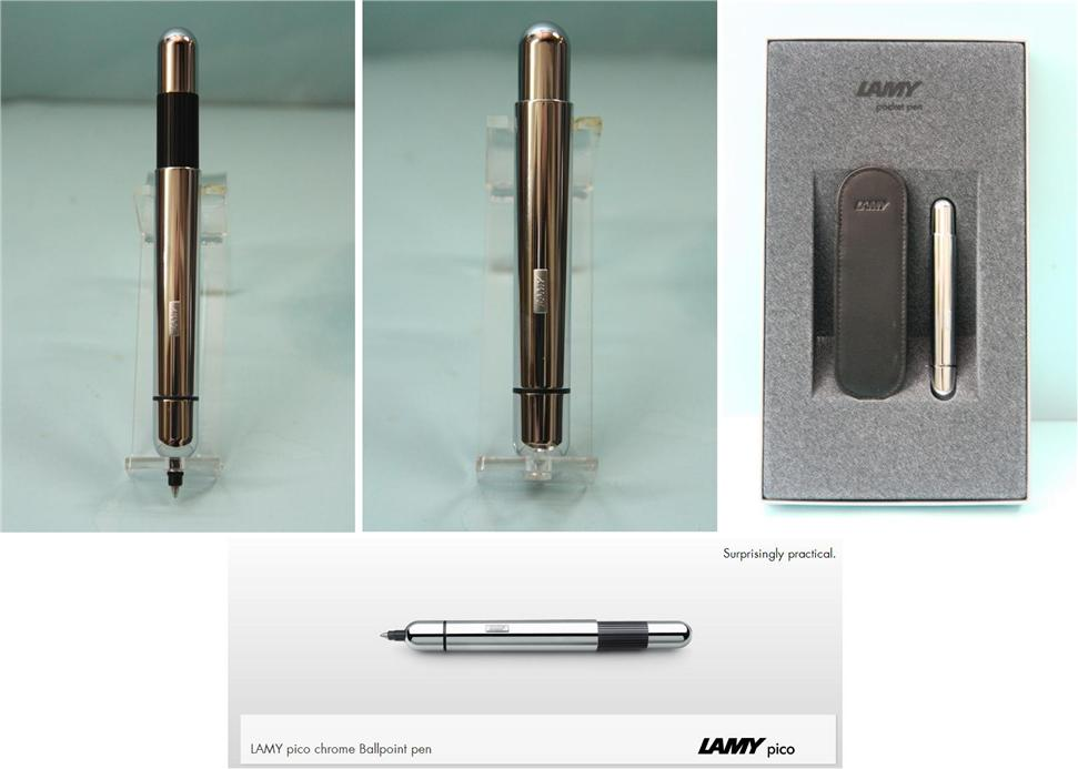 LAMY pico chrome Ballpoint Pen