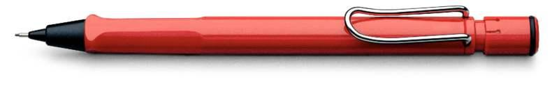 LAMY Safari Red Mechanical Pencil (Model 116) at 20% OFF
