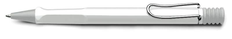 LAMY Safari Shiny White Ballpoint Pen (Model 219) at 20% OFF
