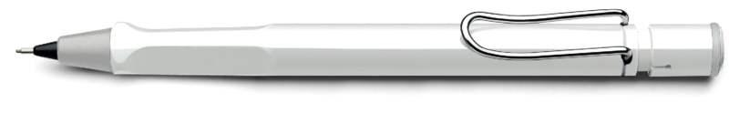 LAMY Safari Shiny White Mechanical Pencil (Model 119) at 20% OFF