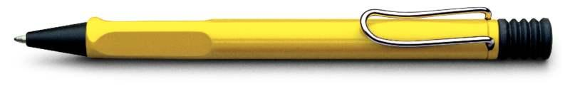 LAMY Safari Yellow Ballpoint Pen (Model 218) at 20% OFF