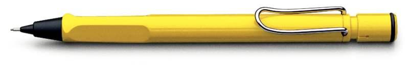 LAMY Safari Yellow Mechanical Pencil (Model 118) at 20% OFF