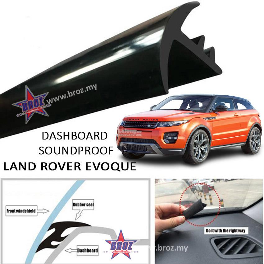 Land Rover Evogue T Shape Car Sound Insulation Sound Proof