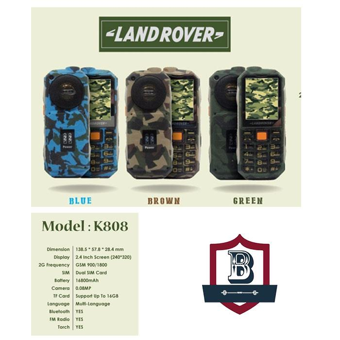 Land Rover K808 16800mAh Powerbank Phone