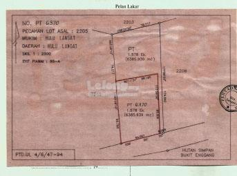 LAND FOR SALE - SG. LONG ULU LANGAT FREEHOLD MALAY RESERVE