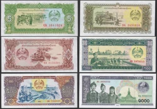 Laotian Currency