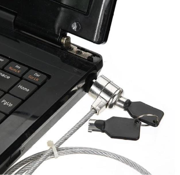 Laptop Notebook Netbook Security Anti-Theft protective Lock Cable chai