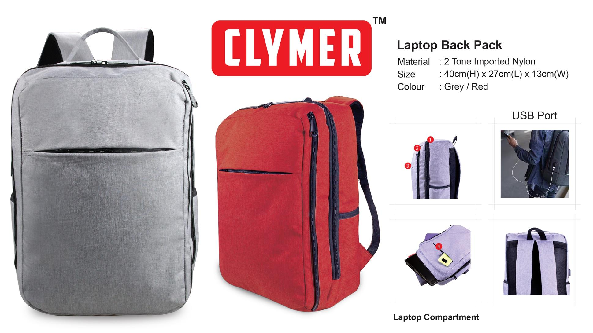 Laptop Back Pack (3547)