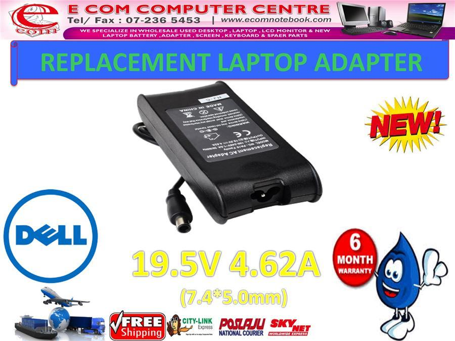Laptop Power Adapter Charger for DELL Inspiron E1705n 1470n 640m 15RM
