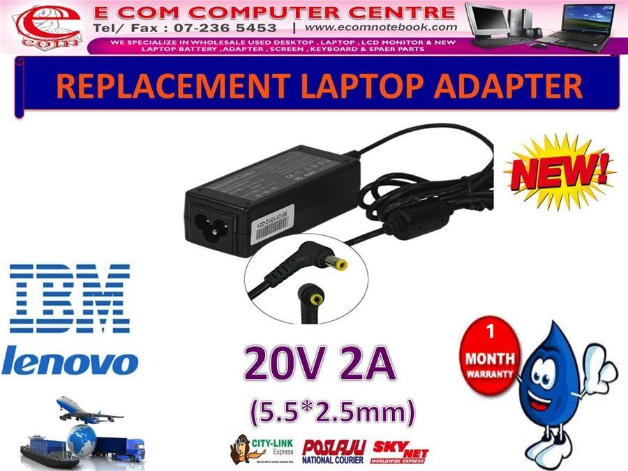 Laptop Power Adapter Charger for LENOVO IdeaPad S12 S110 U150 S10W S9e