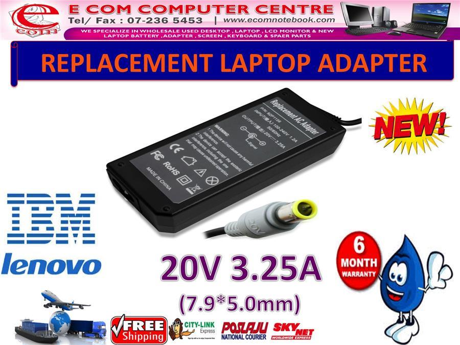Laptop Power Adapter Charger for LENOVO T510s E420 E125 X300 X200 T510