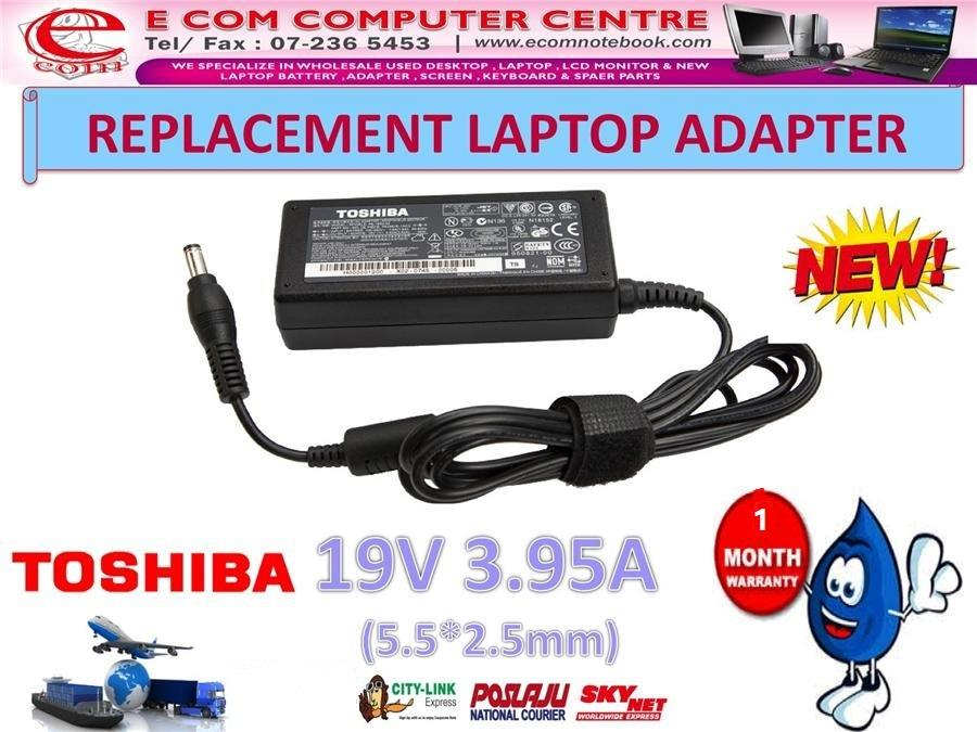 Laptop Power Adapter Charger for TOSHIBA A210 A300 C640 L550 M825 M311