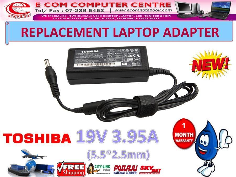 Laptop Power Adapter Charger for TOSHIBA L315 M810 U405 M821 C840 M806