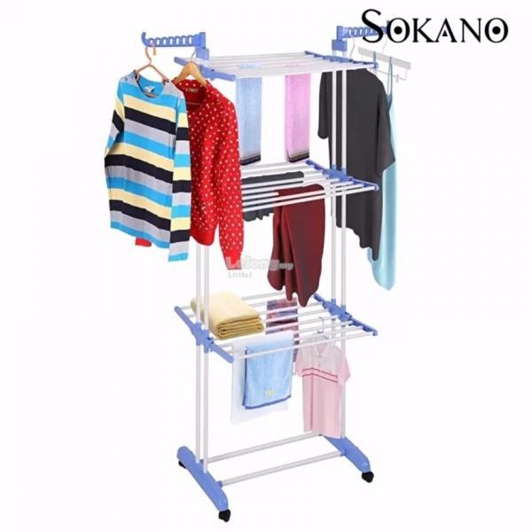 Large Capacity 3 Layer Cloth Rack La End 9292019 347 Pm