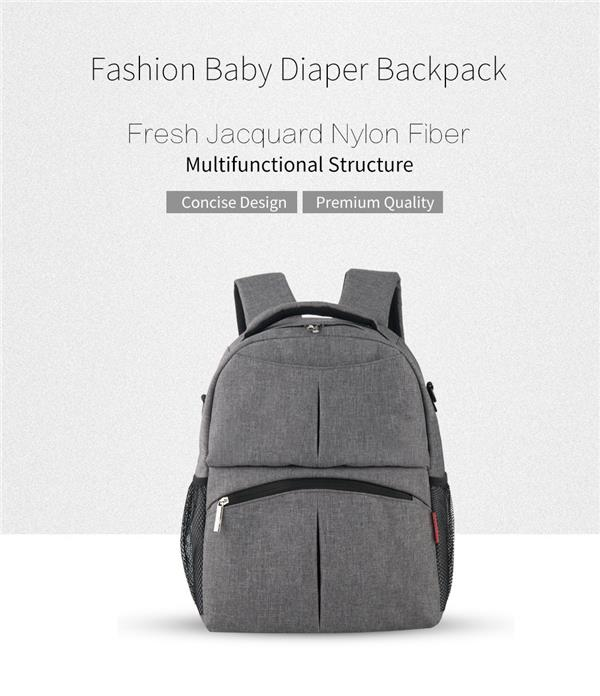 Large Capacity Mummy Maternity Backpack Diaper Bag