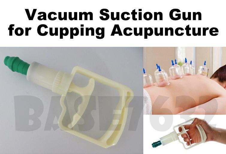 Large Cupping Vacuum Suction Pump Gun Handle Acupuncture 1675.1