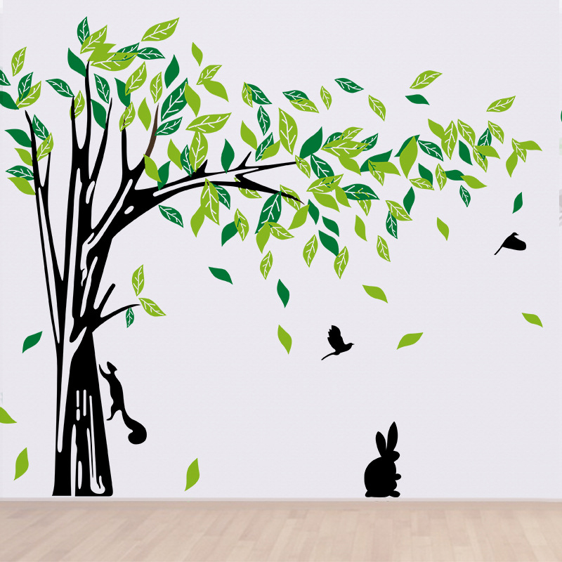 Large Green Tree Wall Stickers Remo End 10192018 159 Am