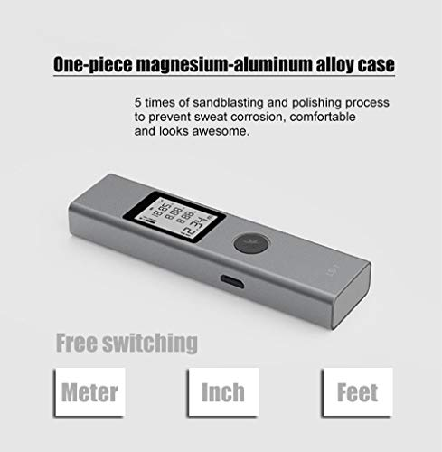 Laser Measurement Tool, Portable Laser Measurer Tape 131ft/1574in/40m with Acc