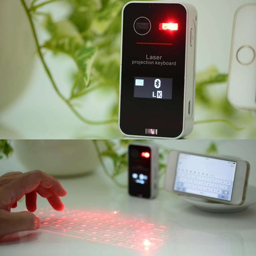 e2a359460cf Laser Projection Bluetooth Keyboard Mouse Combo w/ 0.96' OLED Screen. ‹ ›