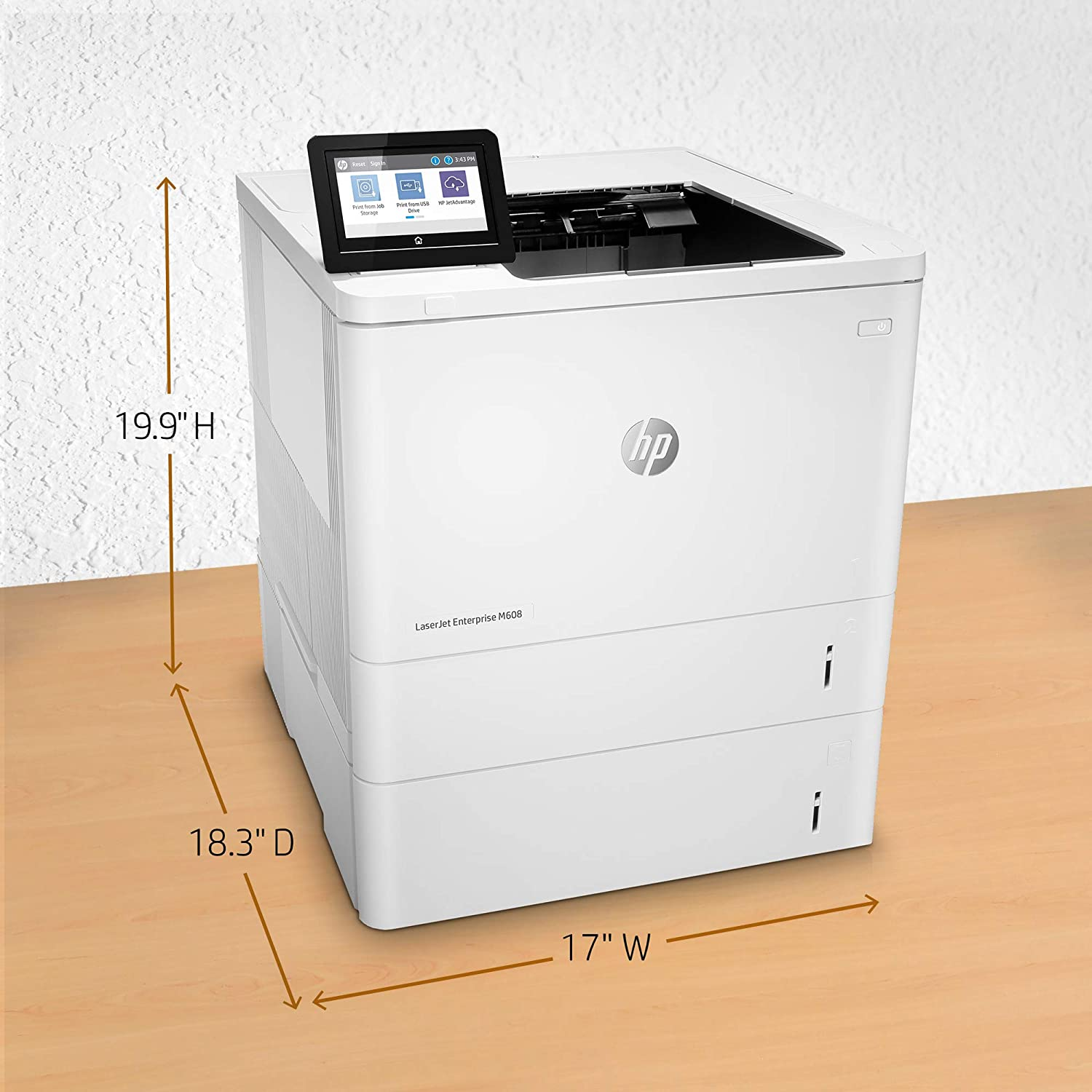 LaserJet Enterprise M608x
