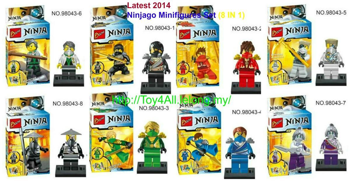 Latest 2014 LEGO Compatible Ninjago (end 4/9/2019 11:44 AM)
