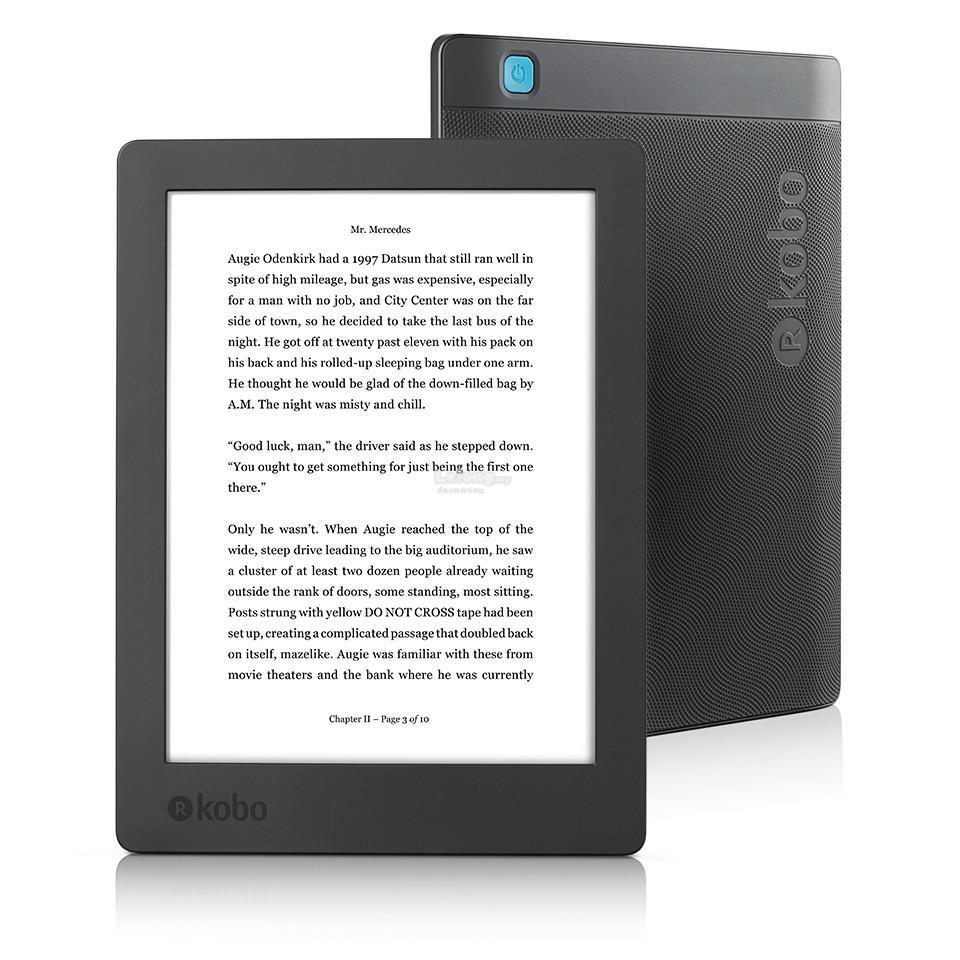 finest selection 9803d 8632b Latest Kobo Aura H2o Edition 2 Waterproof Flipcase Screen Protector
