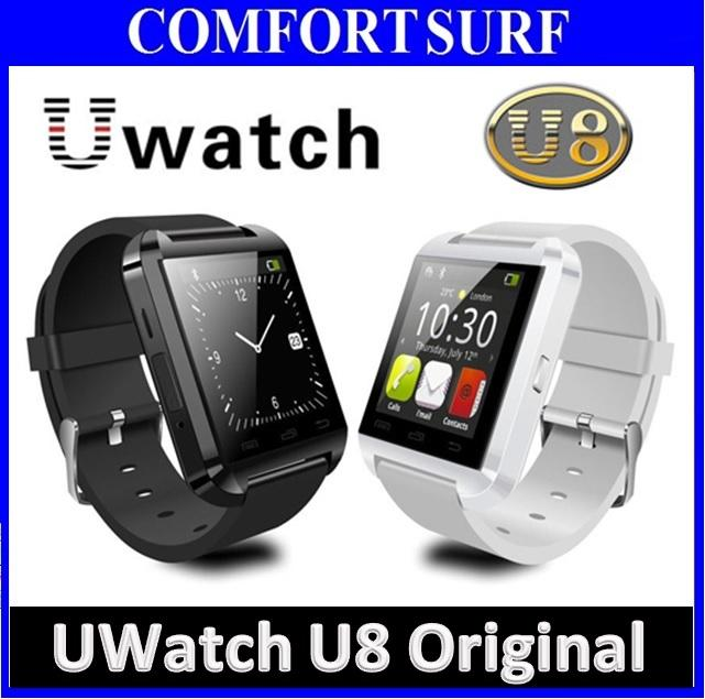 buy online 46d99 2db12 Latest Uwatch U8 Bluetooth Touch screen Smart watch For Android Iphone