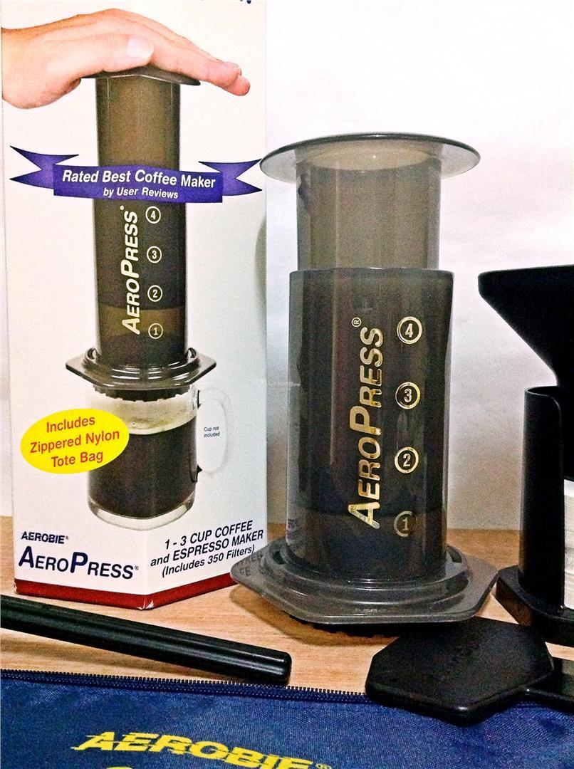 Aerobie Aeropress Coffee Espresso Press Coffee Drinker