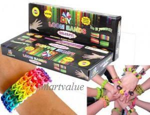 Latex Free Fun Loom Bands / Rainbow Loom Bands for Kids & Adults