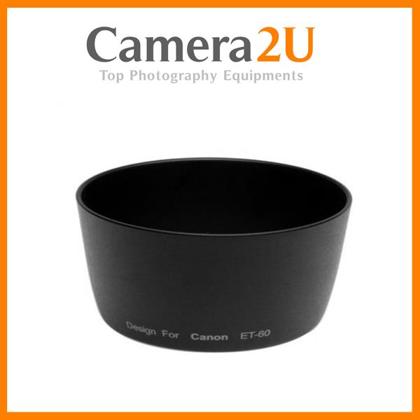 New LAVA ET-60 Lens Hood for Canon 55-250mm 75-300mm ET60