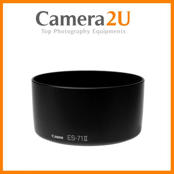 New LAVA ES-71 II Lens Hood for Canon EF 50mm F1.4 Lens ES71 II