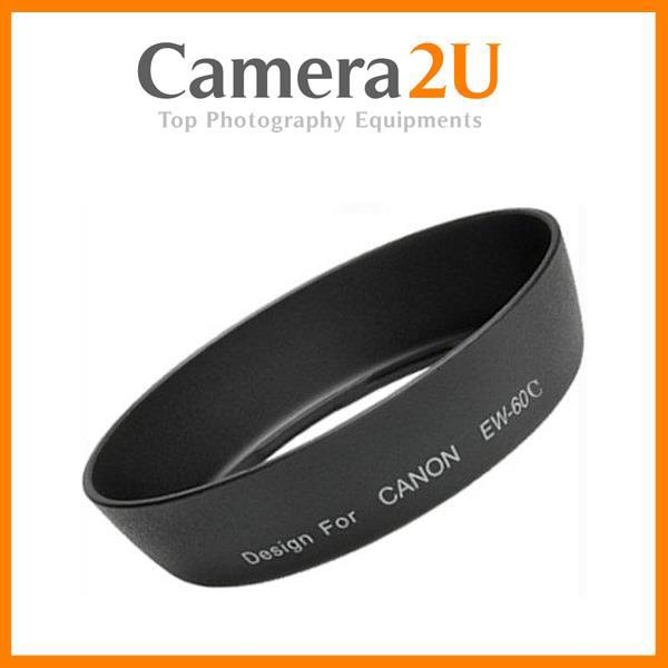 LAVA EW-60C Lens Hood for Canon 18-55mm IS 28-80mm Lens EW60C