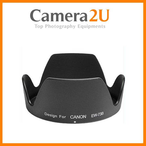 New LAVA EW-73B Lens Hood for Canon 18-135mm 17-85mm Lens EW73B