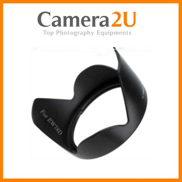 New LAVA EW-78D Lens Hood for Canon 18-200mm 28-200mm EW78D
