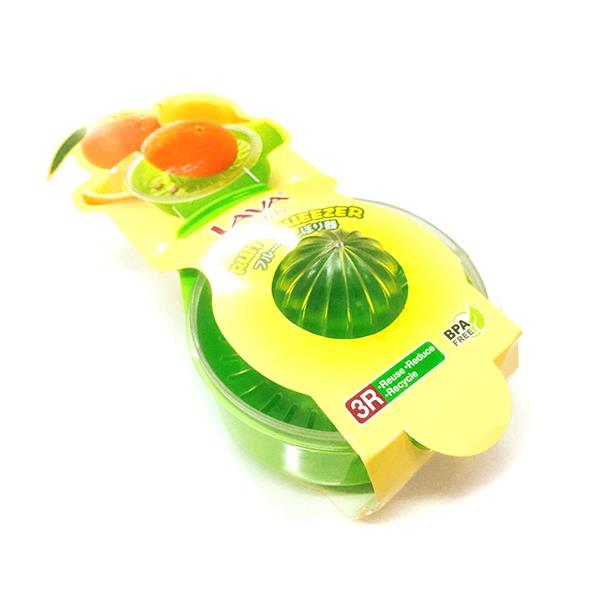 LAVA Plastic Manual Lemon Orange Lime Fruit Juicer Squeezer