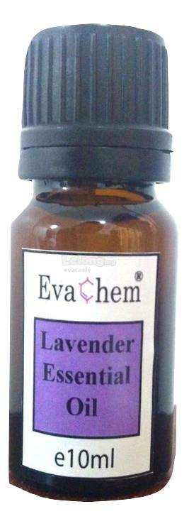 Lavender Essential Oil 10ml in amber glass bottle
