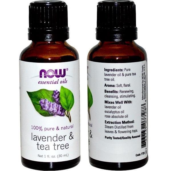 Lavender & Tea Tree Essential Oil 30ml (Made in USA)