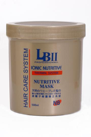 LB-II Ionic Nutritive Thermal Mask Rebond Straight Hair