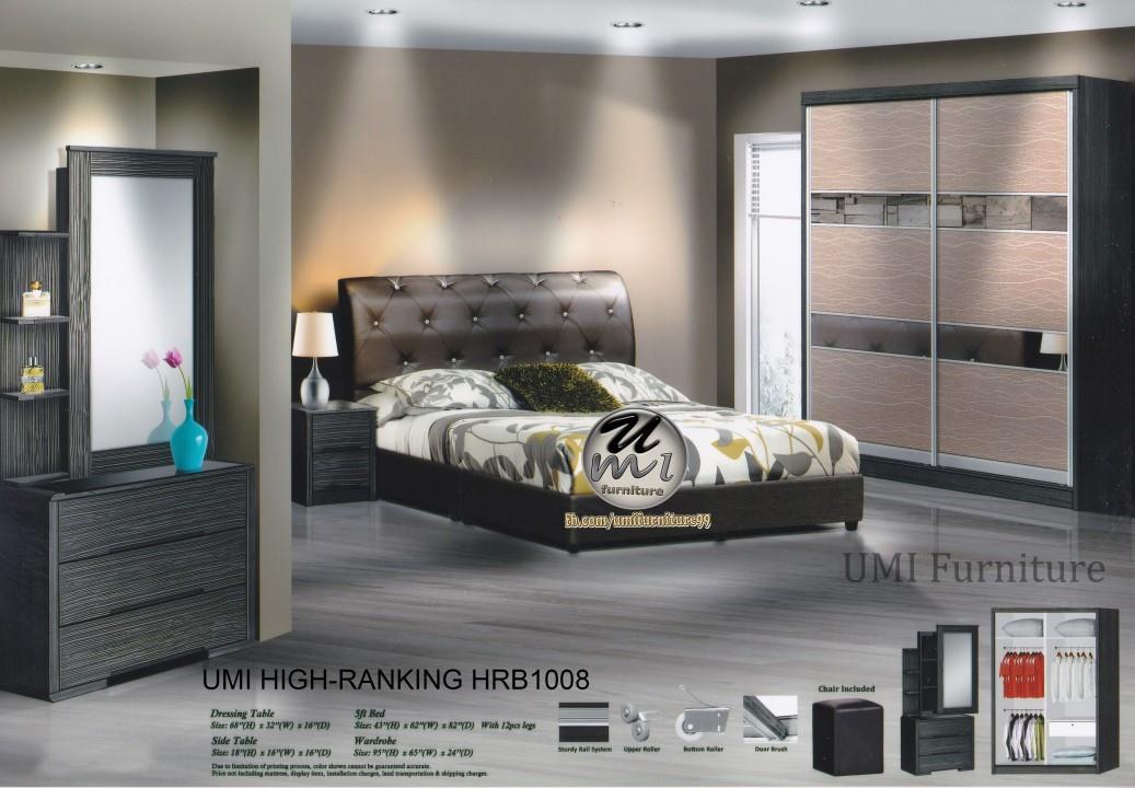 Lc Deco Bedroom Set 8x8 Hrb1008 Bilik Tidur Promosi