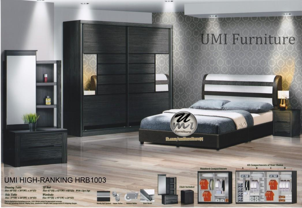 Lc Deco Bedroom Set High Rnking Hrb1003 Bilik Tidur