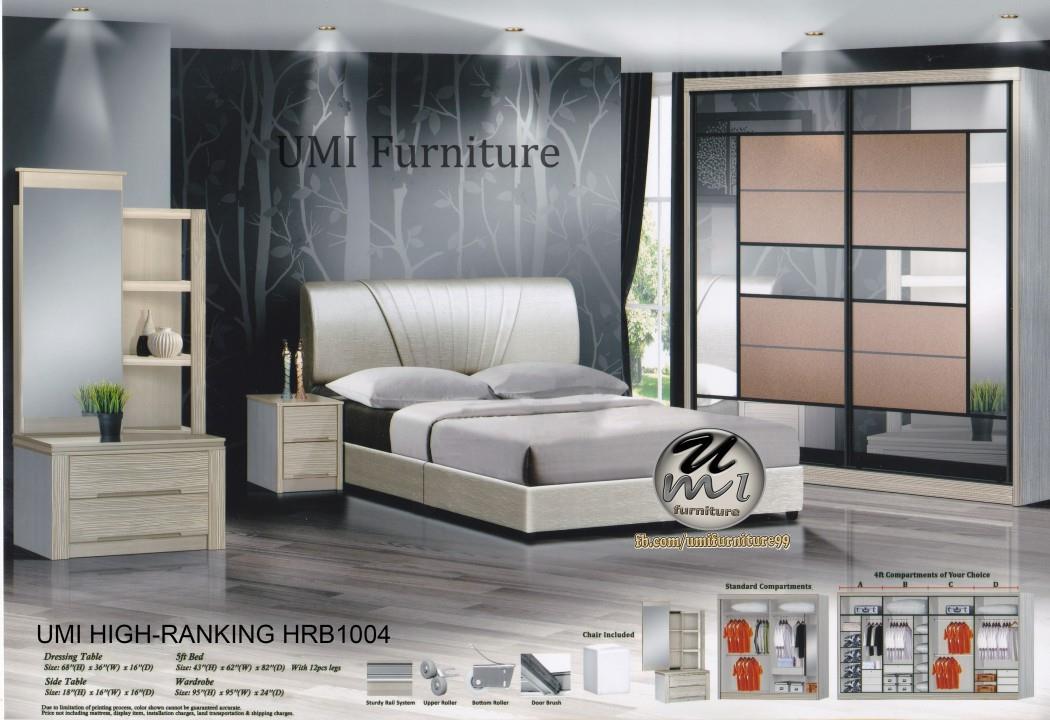 Lc Deco Bedroom Set High Rnking Hrb1004 Bilik Tidur