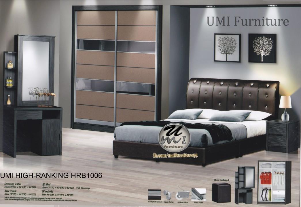 Lc Deco Bedroom Set High Rnking Hrb1006 Bilik Tidur