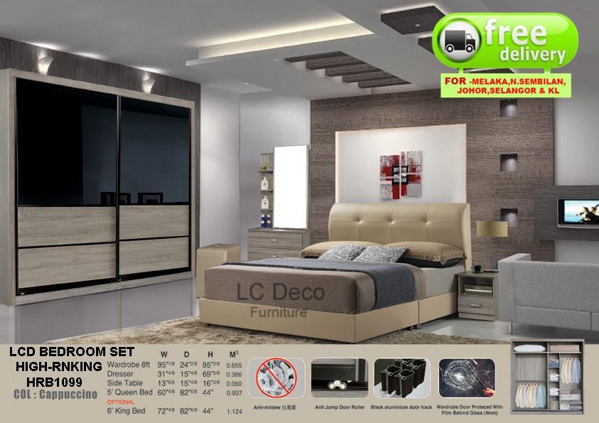 Lc Deco Bedroom Set High Rnking Hrb1099 Bilik Tidur