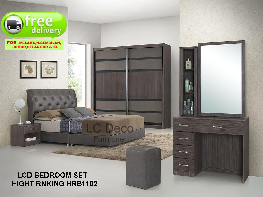 harga set bilik tidur. Black Bedroom Furniture Sets. Home Design Ideas