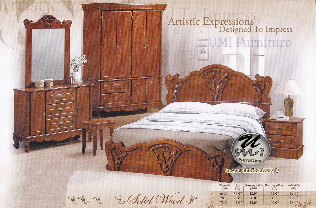 Lc Deco Bedroom Set Bs0006 Bilik Tidur