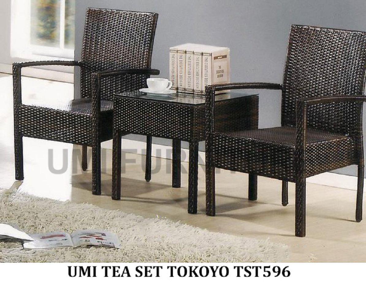 lc deco gardentea set tokoyo tst583 kerusi tamanmejachair - Garden Furniture Malaysia