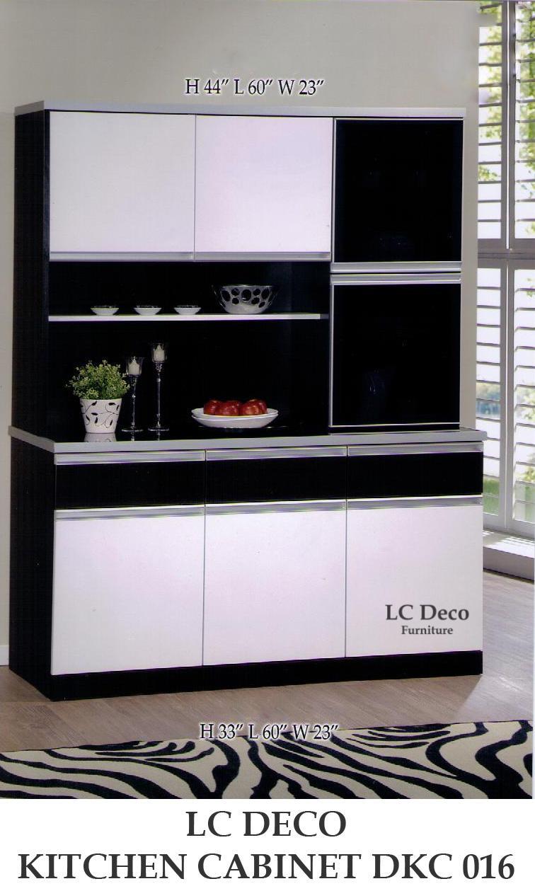lc deco kitchen cabinet dkc 016a (end 7/26/2017 11:15 am)
