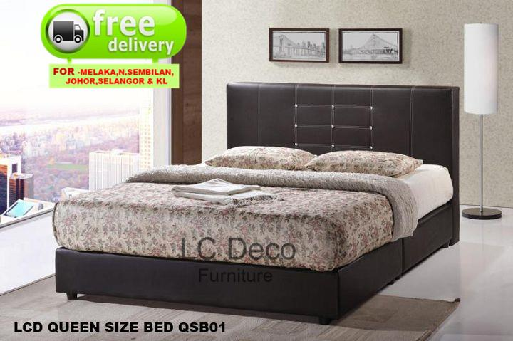 Lc Deco Queen Size Divan Bed Qsb001 Katil