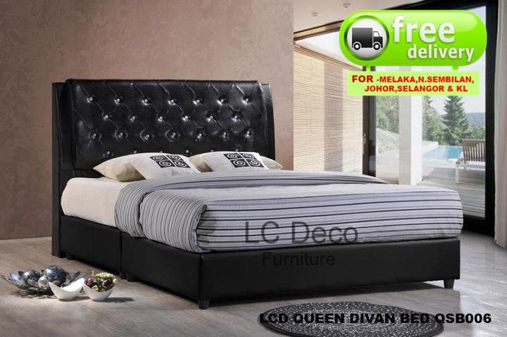 Lc Deco Queen Size Divan Bed Qsb006 Katil